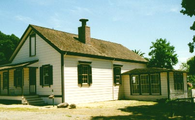 Jack London cottage side view