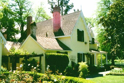 "The Home of General Vallejo in Sonoma - ""Lachryma Montis"""